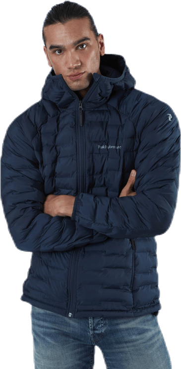 Argon Light Hood Jacket Blue