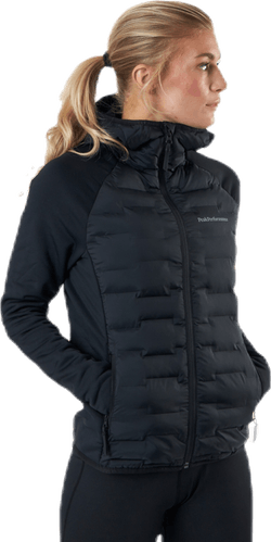 Argon Hybrid Hood Jacket Black