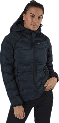 Argon Hood Jacket Black