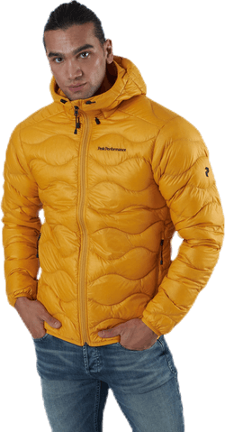 Helium Hood Jacket Orange