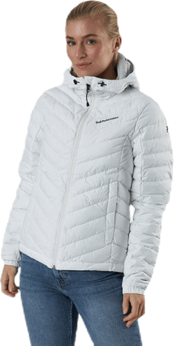 Frost Down Hood Jacket White