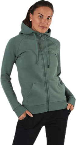 Original Zip Hood Green