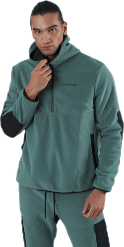 Tech Soft Reverse Hood Black/Green