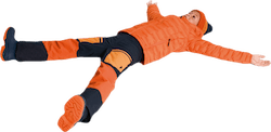 Jr Gravity Pants Orange