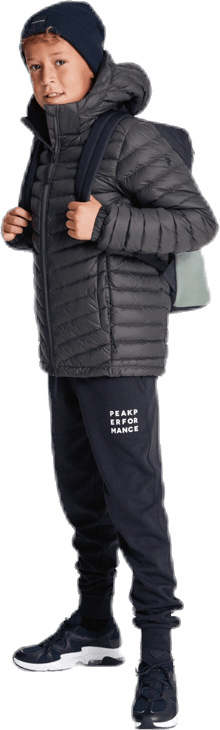 Jr Frost Down Hood Jacket Black