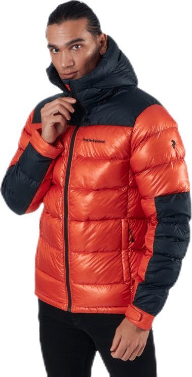 Frost Glacier Down Hood Orange