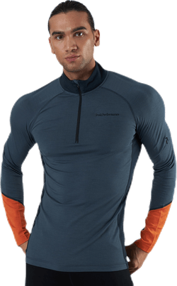 Magic Half Zip Blue/Orange