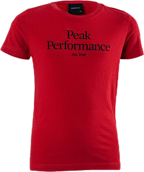 Jr Original Tee Red