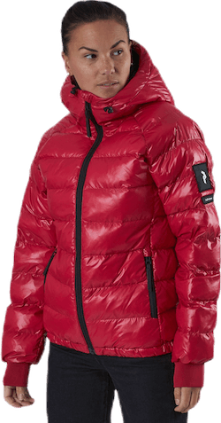Tomic Puffer Jacket Red