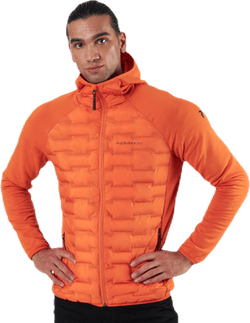 Argon Hybrid Hood Jacket Orange