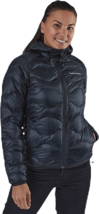 Helium Hood Jacket Black