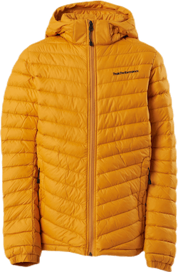 Jr Frost Down Hood Jacket Yellow