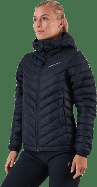 Frost Down Hood Jacket Black