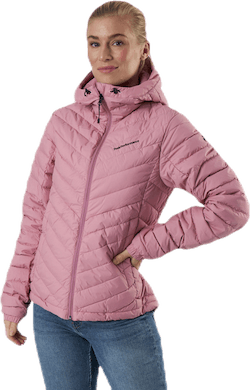 Frost Down Hood Jacket Pink
