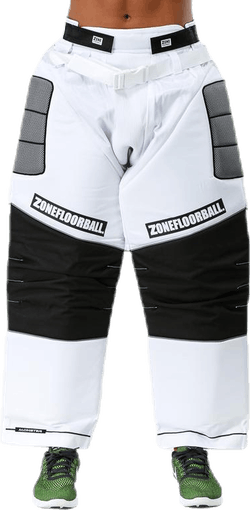Goalie Pants Monster White/Black