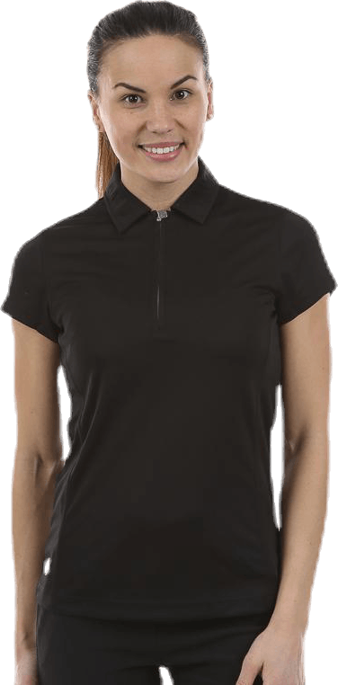 Macy S/S Polo Shirt Black