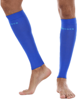 Compression Calf Sleeve Blue