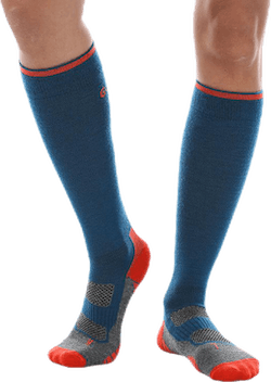 Compression Wool Blue