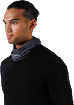 Thin Neckwarmer Black