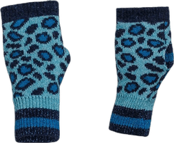 Maraton Petra knitted Wrist Gaiters Turquoise