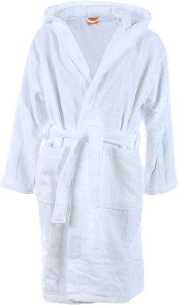Orbaden Bathrobe White