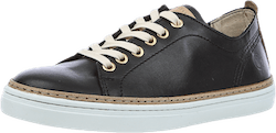 Silvermine Low Leather Black