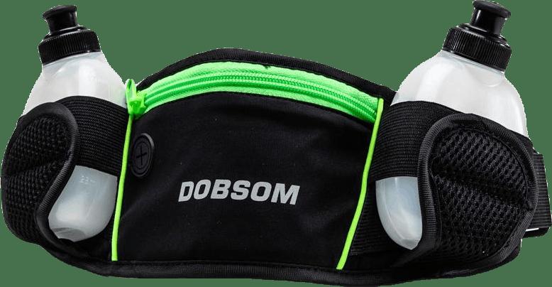 Waistbag Bottles Green/Black