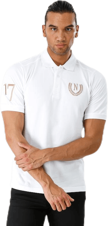 Laurel 17 Polo White
