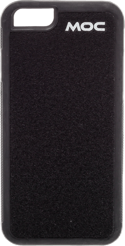 Velcro Case iPhone 6/6S Black QAS Black