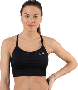 Dynamic Seamless Sports Bra Black