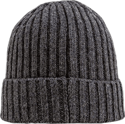 Stockholm Wool Blend Beanie Grey