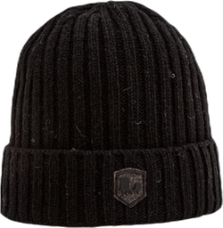 Stockholm Wool Blend Beanie Black