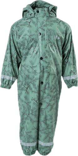 Nordskog Fleece-Lined Rain Overall Green