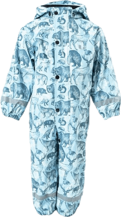 Djurås Rain Overall Toddler Blue