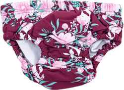 Flora Swim Diaper Red