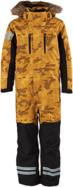 Camo Overall 15 000 mm Patterned/Yellow