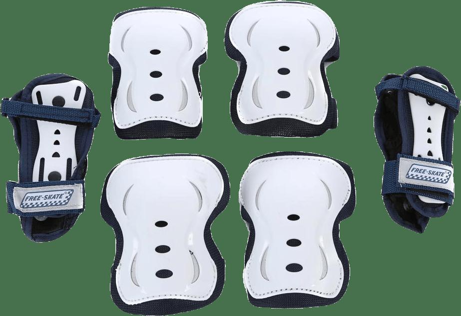 Set SR 3-delar White/Black