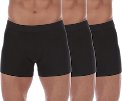 Boxer-Brief 3-Pack Black