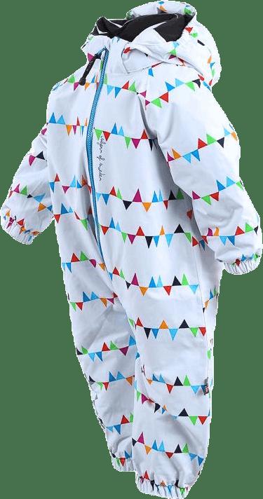 Toddler Winter Overall White