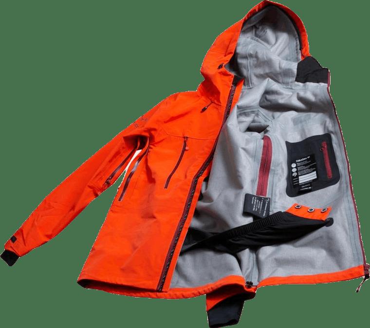 Expedition Hard Shell Jacket Orange