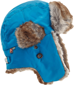 Squirrel Winter Cap Turquoise