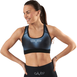 MarvelLizzy Sports Bra Blue/Silver