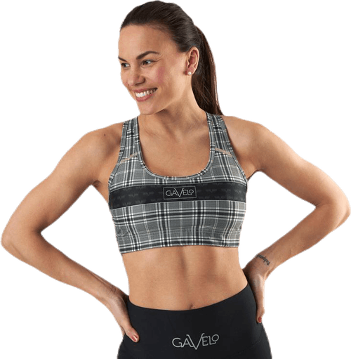 GLNCHCK 3 Sports Bra Black/Beige