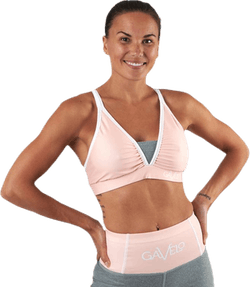 Peach Swirl Sports Bra Orange
