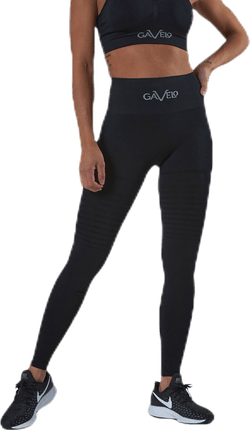 Seamless Black Leggings Black