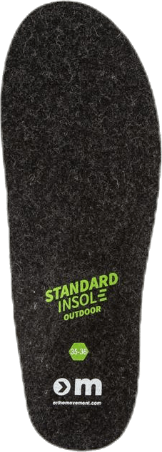Standard Insole Outdoor Black