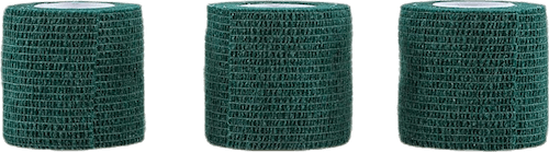 Wrap Tape 5CM/4,5M x3 Green