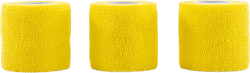 Wrap Tape 5CM/4,5M x3 Yellow