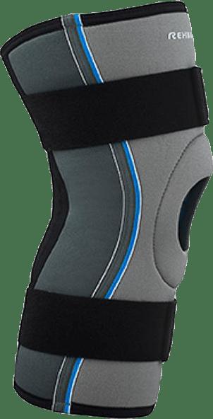 Knäskydd x-stabil med patellastöd Core Line Blue/Grey