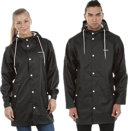 Wings Rain Jacket Black